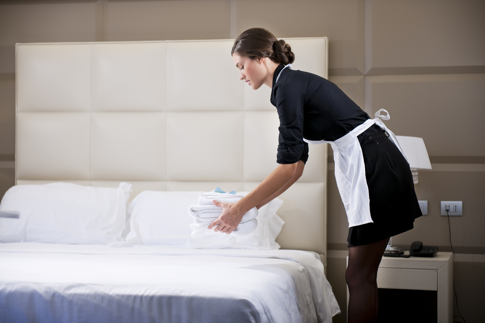 camareira de hotel profissao turismo - Camareira de hotel em Natal (RN) receberá adicional por limpeza de banheiros